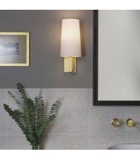 Sieninis šviestuvas RIVA 350 White/Gold IP44 1214008W