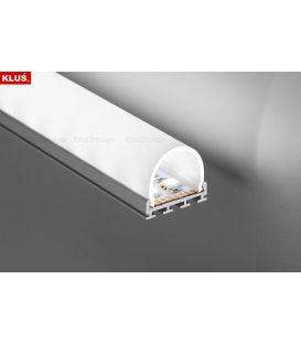 LED profilis GIP paviršinis 2 metrai B4574ANODA