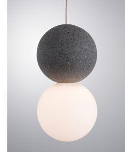 Pakabinamas šviestuvas ZERO Grey 9704191