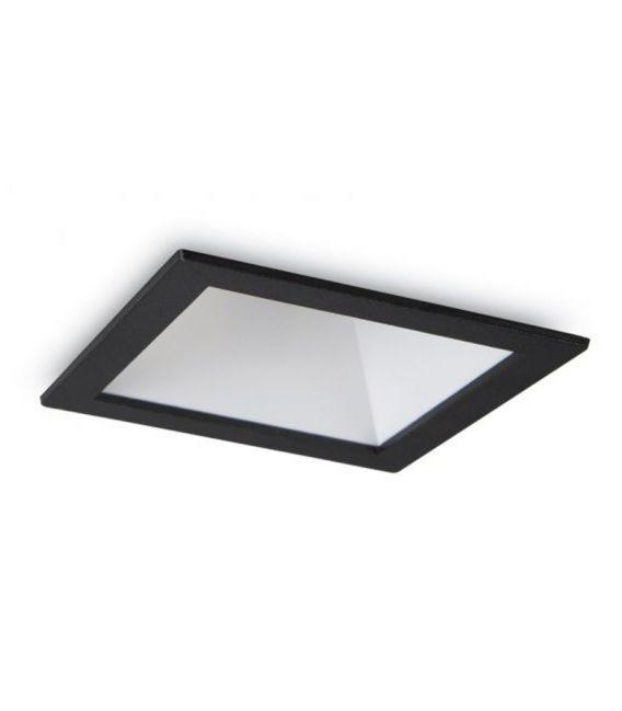 12W LED Įmontuojamas šviestuvas GAME SQUARE Black White 192406