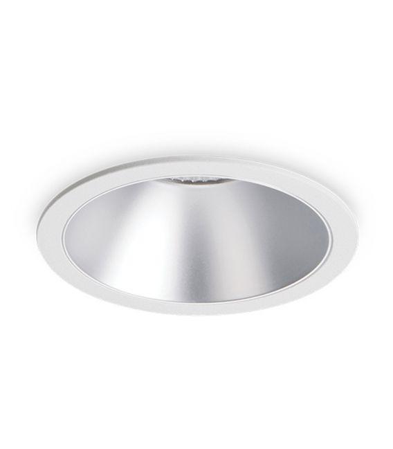 12W LED Įmontuojamas šviestuvas GAME ROUND White Silver 192284