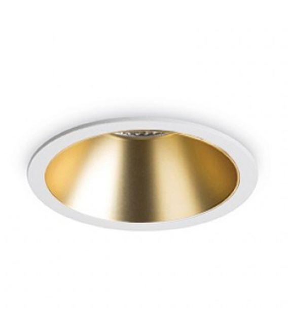 12W LED Įmontuojamas šviestuvas GAME ROUND White Gold 192307