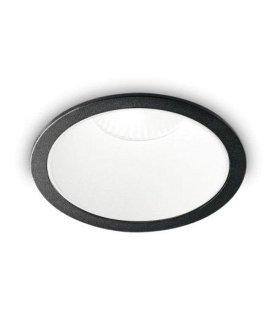 12W LED Įmontuojamas šviestuvas GAME ROUND Black White 192338