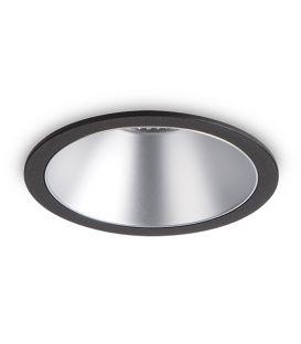 12W LED Įmontuojamas šviestuvas GAME ROUND Black Silver 192321