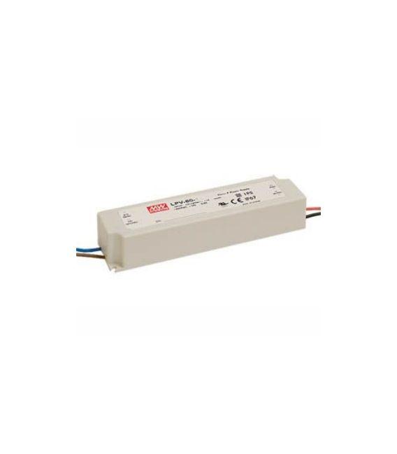 Transformatorius 60W 24V 2,5A IP67 LPV-60-24