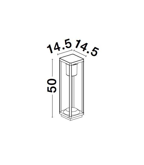 1.5W LED Šviestuvas su judesio davikliu LOVETO IP65 Dimeriuojamas 9120622