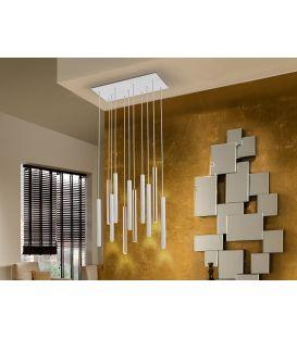 55W LED Pakabinamas šviestuvas VARAS White/Gold 373342