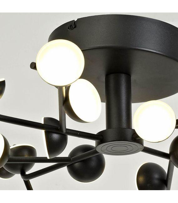 72W LED Lubinis šviestuvas ADN Black 6423