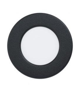 2.7W LED Įmontuojama panelė FUEVA Black Ø8.6 3000K 99142