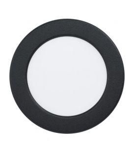 5.5W LED Įmontuojama panelė FUEVA Black Ø11.7 3000K 99143