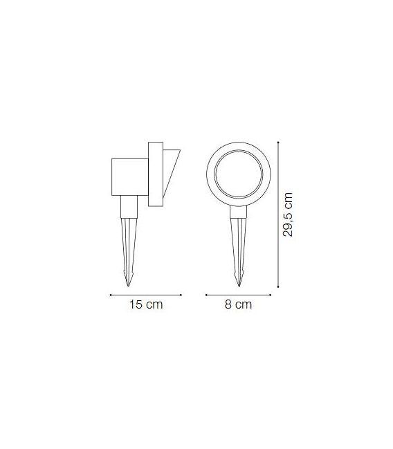 Įsmeigiamas šviestuvas TERRA PT1 SMALL IP65 33037