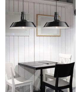 Pakabinamas šviestuvas OSTERIA Black Ø46 420201