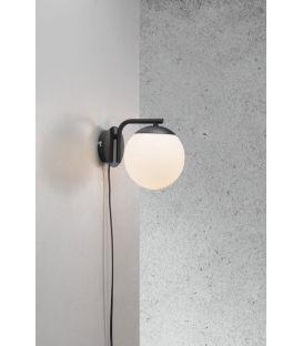 Sieninis šviestuvas GRANT Black 47091003