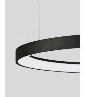 48W LED Pakabinamas šviestuvas PERTINO Black Ø58 Dimeriuojamas 9853684