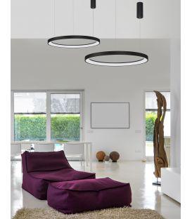 60W LED Pakabinamas šviestuvas PERTINO Black Ø78 Dimeriuojamas 9853686