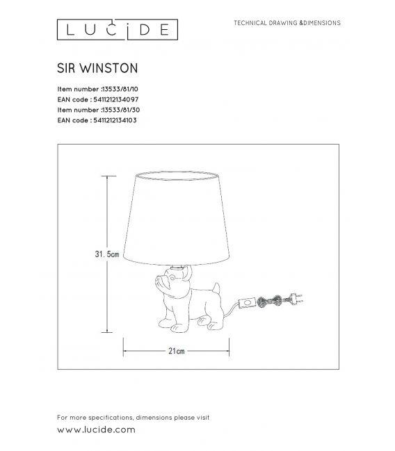 Stalinis šviestuvas EXTRAVAGANZA SIR WINSTON 13533/81/30