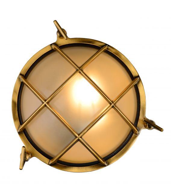 Sieninis šviestuvas DUDLEY Brass IP44 11890/25/02