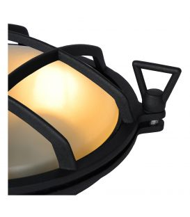 Sieninis šviestuvas DUDLEY Black IP44 11890/25/30