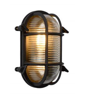 Sieninis šviestuvas DUDLEY Black IP44 11891/20/30