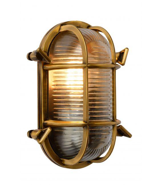 Sieninis šviestuvas DUDLEY Brass IP44 11891/20/02
