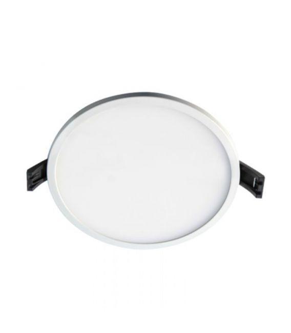 24W LED Įmontuojama panelė White Round Ø17 IP44 3000K LPSR-24WW WQ