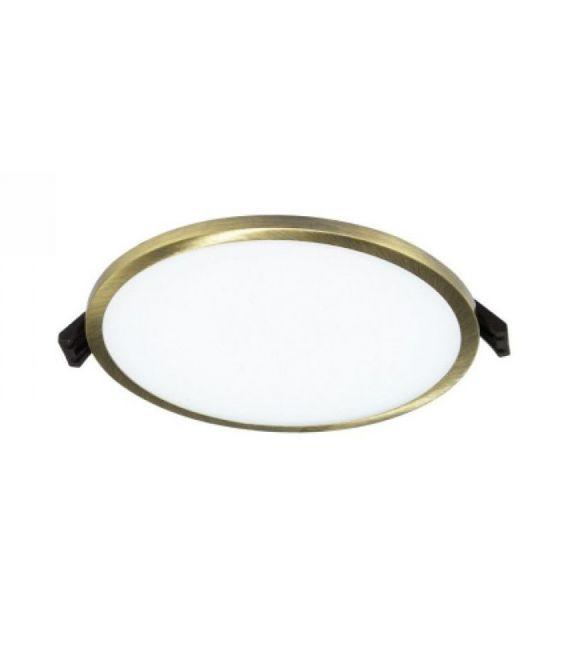 16W LED Įmontuojama panelė Bronze Round Ø14.5 IP44 3000K LPSR-16WW RQ