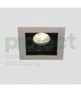 Įmontuojamas šviestuvas GRID Silver/Black DL-GRID1SB