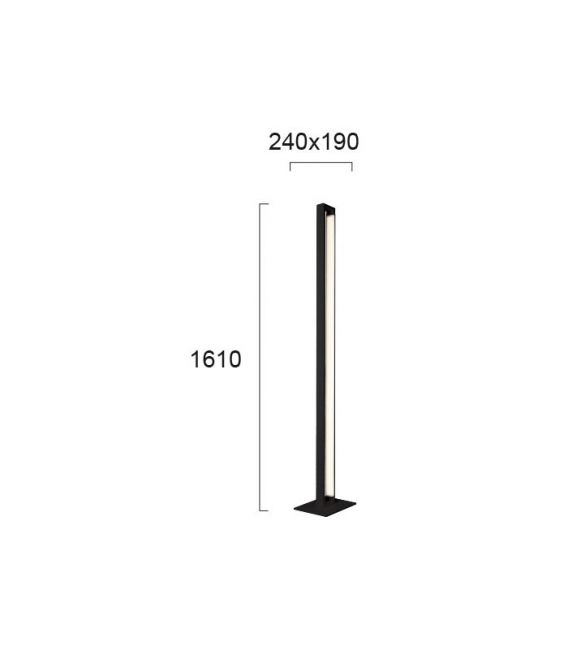27W LED Toršeras TIFFANY 4220800