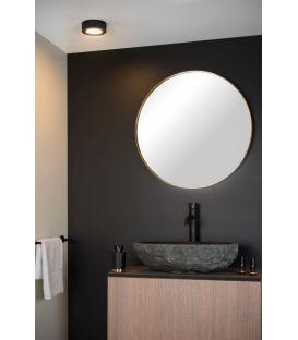 8W LED Lubinis šviestuvas BRICE Black IP44 Dimeriuojamas 28116/11/30