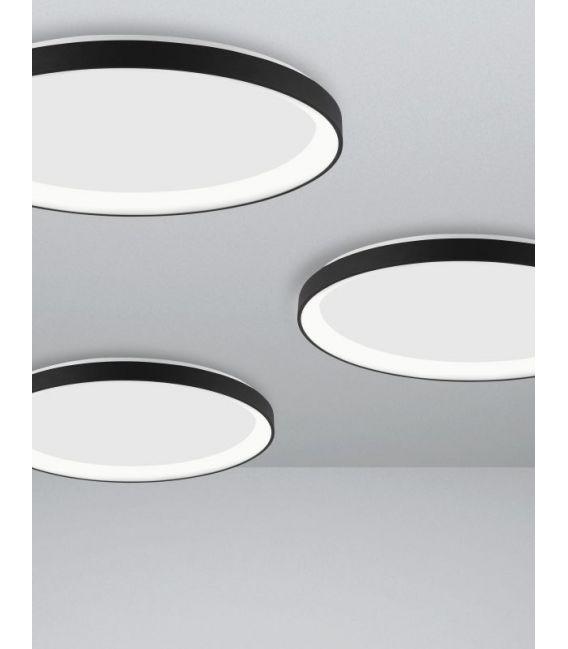 38W LED Lubinis šviestuvas PERTINO Black Ø48 9853674