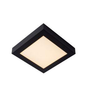 22W LED Lubinis šviestuvas BRICE Black IP44 Dimeriuojamas 28117/22/30