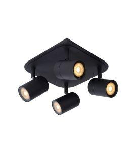 Lubinis šviestuvas LENNERT 4 Black IP44 Dimeriuojamas 26958/20/30