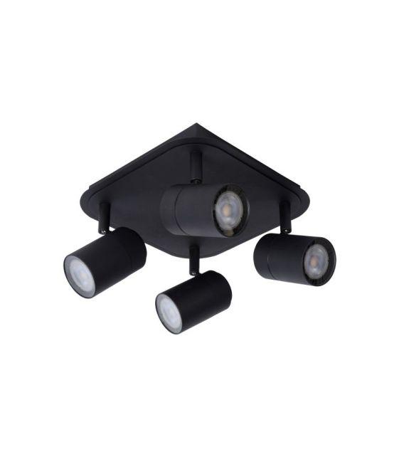 Lubinis šviestuvas LENNERT 4 Black IP44 26958/20/30