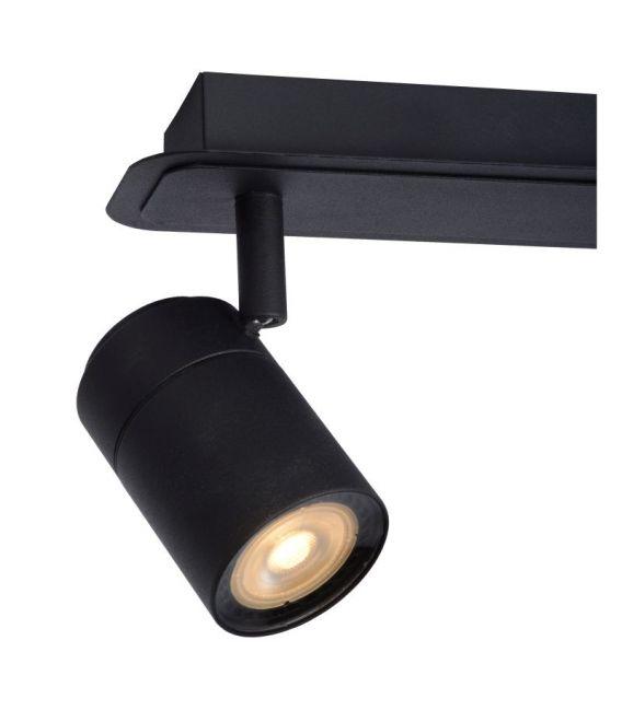 Lubinis šviestuvas LENNERT 3 Black IP44 Dimeriuojamas 26958/15/30