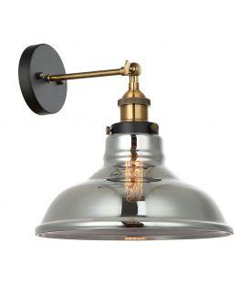 Sieninis šviestuvas HUBERT MBM-2381/1 GD+SG