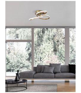 40W LED Lubinis šviestuvas FUSION Gold 1701101004