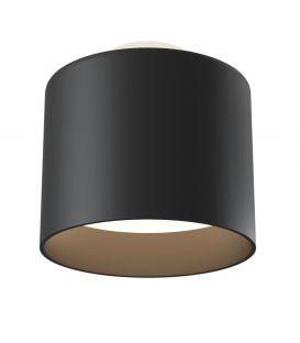 12W LED Lubinis šviestuvas PLANET Black Ø10 C009CW-L12B