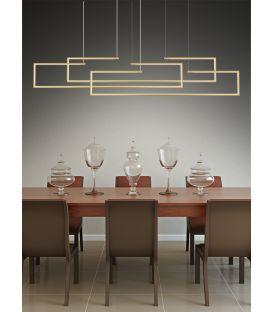 20W LED Pakabinamas šviestuvas 01133 Gold 100-01133-04
