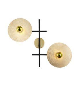 Sieninis šviestuvas 02307 Gold 123-02307-17