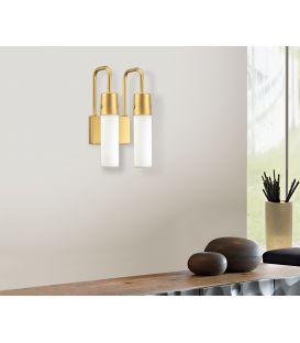 Sieninis šviestuvas 01230 Gold 100-01230-18