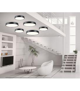 21W LED Lubinis šviestuvas 01180 Black Ø40 100-01180-20