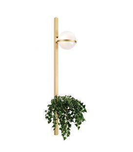 Sieninis šviestuvas 01267 Gold 100-01267-18