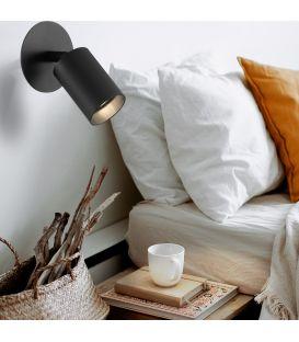 Sieninis šviestuvas 01280 Black 100-01280-18