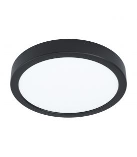 16.5W LED Paviršinė panelė FUEVA 5 Black Ø21 3000K 99223