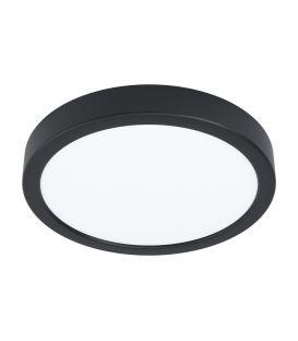 16.5W LED Paviršinė panelė FUEVA 5 Black Ø21 4000K 99234