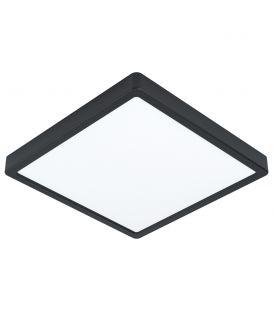 20W LED Paviršinė panelė FUEVA 5 3000K Black 99245