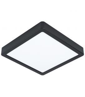 16.5W LED Paviršinė panelė FUEVA 5 4000K Black 99256