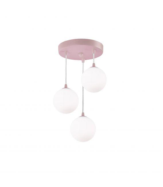 Pakabinamas šviestuvas KIDS Pink 3423-3PI
