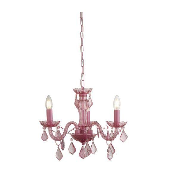 Pakabinamas šviestuvas KIDS Pink 3943-3PI