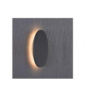 6W LED Sieninis šviestuvas BORA BORA Black Ø13,5 C0119